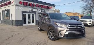 Used 2019 Toyota Highlander LIMITED  for sale in Oakville, ON