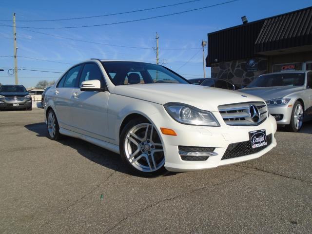 2012 Mercedes-Benz C-Class 4dr Sdn C 300 4MATIC LOW KM SAFETY SUNROOF B-TOOTH