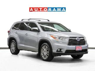 Used 2015 Toyota Highlander XLE 4WD Nav Leather Sunroof Bcam 8Pass for sale in Toronto, ON