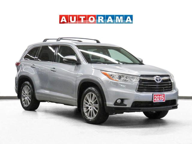 2015 Toyota Highlander XLE 4WD Nav Leather Sunroof Bcam 8Pass