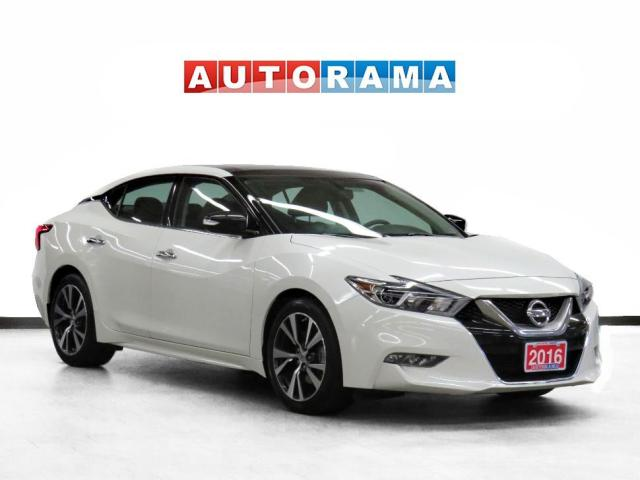 2016 Nissan Maxima SL Leather PanoRoof Backup Cam