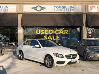 Used 2016 Mercedes-Benz C-Class C 300 4Matic, Navi, Roof, Blind Spot for sale in Vaughan, ON