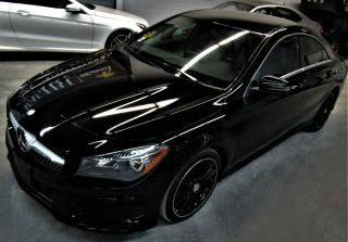 Used 2016 Mercedes-Benz CLA-Class CLA 250 AMG PKG NAVIGATION REVERSE CAMERA for sale in North York, ON
