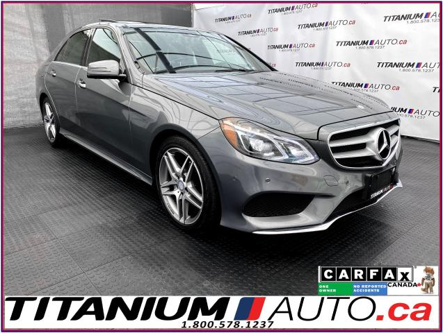 2016 Mercedes-Benz E-Class AMG PKG+360 Camera+Pano Roof+Premium Leather+GPS+