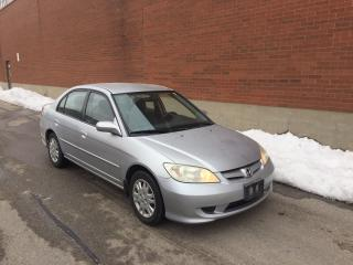 2004 Honda Civic LX- only 160K KMS! 1 LOCAL OWNER!