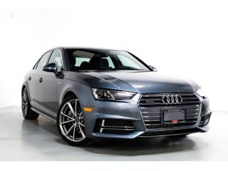 Used 2017 Audi A4 AWD   S-LINE   WARRANTY   NAVI   SUNROOF for sale in Vaughan, ON