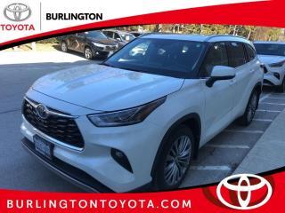 New 2020 Toyota Highlander Platinum AWD (Natl) for sale in Burlington, ON