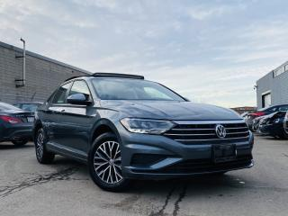 Used 2019 Volkswagen Jetta |AUTO|SUN ROOF|APPLE CAR PLAY|HEATED SEATS|ALLOYS|LEATHER! for sale in Brampton, ON