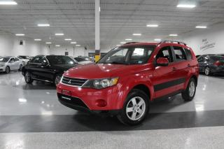 Used 2007 Mitsubishi Outlander LS I KEYLESS ENTRY I POWER OPTIONS I CRUISE I BT I AS IS for sale in Mississauga, ON