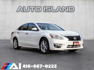 Used 2014 Nissan Altima LEATHER SUNROOF NAVIGATION BACK UP CAMERA for sale in North York, ON