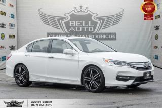 Used 2016 Honda Accord Sedan Sport, REAR CAM, B.SPOT CAM, SUNROOF, BLUETOOTH for sale in Toronto, ON