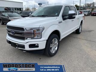 New 2020 Ford F-150 Platinum  700A, CREW, TWIN PANEL, SPRAY IN LINER for sale in Woodstock, ON