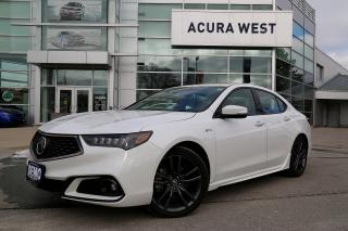 Used 2019 Acura TLX SH-AWD Tech A-Spec Only 9915kms!!! for sale in London, ON