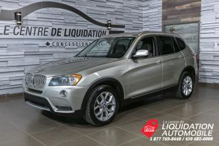 Used 2014 BMW X3 xDrive28i for sale in Laval, QC