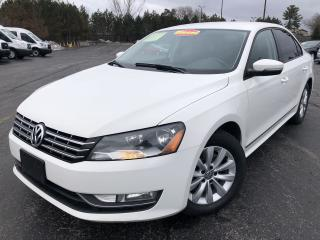 Used 2013 VW PASSAT TRENDLINE TDI 2WD for sale in Cayuga, ON