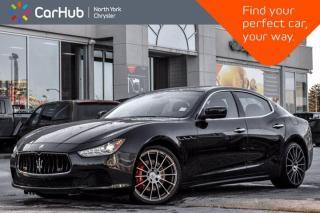 Used 2016 Maserati Ghibli S Q4 HK Sound Nav AWD TwinTurbo MemSeat Heat Seats Remote Start for sale in Thornhill, ON