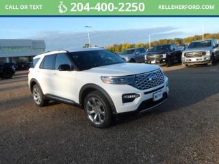 New 2020 Ford Explorer Platinum for sale in Brandon, MB