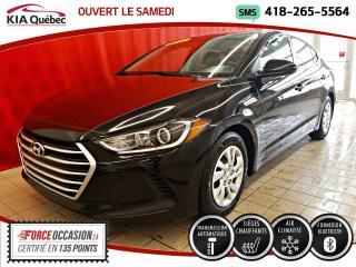 Used 2017 Hyundai Elantra LE* AUTOMATIQUE* A/C* SIEGES CHAUFFANTS* for sale in Québec, QC
