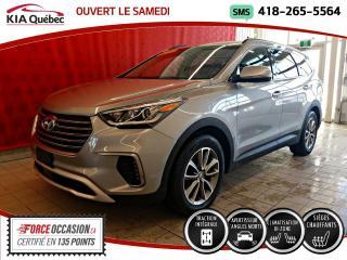 Used 2019 Hyundai Santa Fe V6* PREFERRED* AWD* 7 PLACES* CARPLAY* for sale in Québec, QC