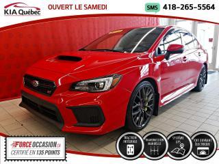 Used 2018 Subaru Impreza WRX STi SPORT* TECH* AWD* GPS* TOIT* for sale in Québec, QC
