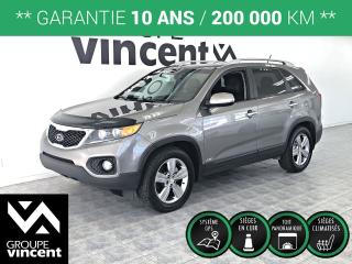 Used 2012 Kia Sorento EX LUXURY V6 AWD ** GARANTIE 10 ANS ** Luxueux a bas prix! for sale in Shawinigan, QC