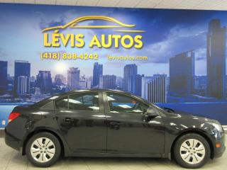 Used 2013 Chevrolet Cruze AUTOMATIQUE AIR-CLIMATISÉ SEULEMENT 9980 for sale in Lévis, QC