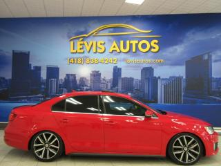 Used 2012 Volkswagen Jetta GLI GLI GPS NAVIGATION CUIR TOIT OUVRANT 145 for sale in Lévis, QC