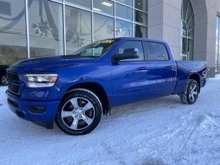 Used 2019 RAM 1500 SPORT , CREW , 4X4 , DIFF 3.92 , BOITE 6 for sale in Ste-Agathe-des-Monts, QC