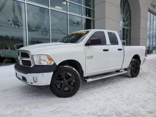 Used 2017 RAM 1500 Cabine quad 4RM, SXT CAMERA DE RECULE 80 for sale in Ste-Agathe-des-Monts, QC