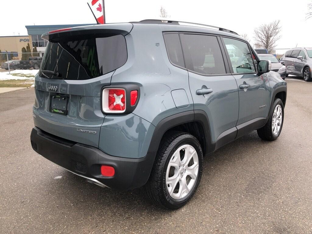 Used 2017 Jeep Renegade 4WD 4dr Limited, Navigation ...