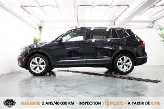 Used 2018 Volkswagen Tiguan 4MOTION Highline + 5 Places + GPS + Keyless for sale in Québec, QC