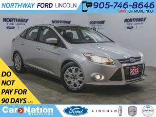 Used 2012 Ford Focus SE | KEYLESS ENTRY | FOG LIGHTS | CRUISE | SYNC | for sale in Brantford, ON
