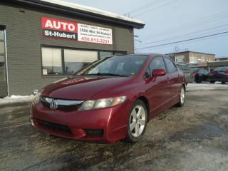 Used 2009 Honda Civic SPORT ** AUTOMATIQUE ** for sale in St-Hubert, QC