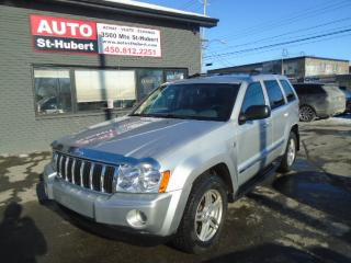 Used 2007 Jeep Grand Cherokee Limited Diesel for sale in St-Hubert, QC