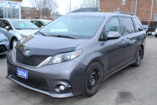 Used 2014 Toyota Sienna SE LEATHER SUNROOF for sale in Brampton, ON
