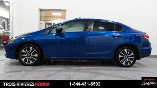Used 2015 Honda Civic EX + TOIT + MAGS + CAMÉRA DE RECUL + VIT for sale in Trois-Rivières, QC