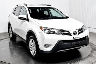 Used 2015 Toyota RAV4 LIMITED  AWD CUIR TOIT NAV for sale in Île-Perrot, QC