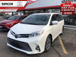 New 2020 Toyota Sienna XLE 7-Passenger  - Sunroof - $345 B/W for sale in Simcoe, ON