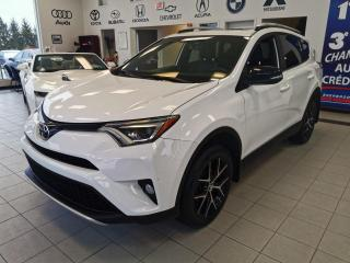 Used 2016 Toyota RAV4 SE / AWD / CUIR / NAV / TOIT OUVRANT for sale in Sherbrooke, QC