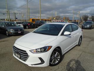Used 2018 Hyundai Elantra AUTO SUNROOF LINE KEEP NO ACCIDENT 1 OWNER PW PL P for sale in Oakville, ON