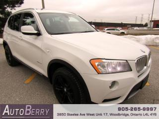 Used 2014 BMW X3 2.8i - xDrive - AWD for sale in Woodbridge, ON