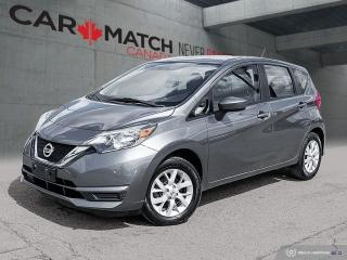 Used 2017 Nissan Versa Note SV / AUTO / NO ACCIDENTS for sale in Cambridge, ON