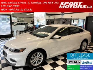 Used 2018 Chevrolet Malibu LT+Apple Play+Camera+Bluetooth+A/C+Push Start for sale in London, ON