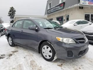 Used 2011 Toyota Corolla Berline 4 portes, boîte manuelle, CE for sale in Longueuil, QC
