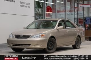 Used 2004 Toyota Camry LE RÉGULATEUR DE VITESSE! PNEUS D'HIVER INCLUS! SUPER PRIX! FAITES VITE! for sale in Lachine, QC