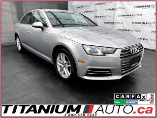Used 2017 Audi A4 Quattro+Camera+Back Up Sensors+Heated Steering+App for sale in London, ON