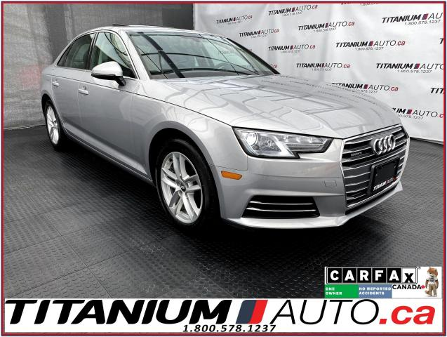 2017 Audi A4 Quattro+Camera+Back Up Sensors+Heated Steering+App
