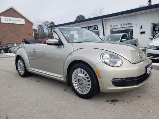 Used 2016 Volkswagen Beetle CONVERTIBLE for sale in Waterdown, ON