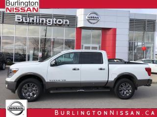 Used 2019 Nissan Titan Platinum for sale in Burlington, ON