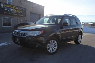 Used 2012 Subaru Forester Auto 2.5X Limited Sunroof Heated Seats Bluetooth for sale in Newmarket, ON